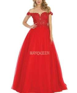 New formal ball gown, pageant prom party dress